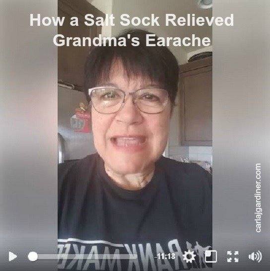 How a Salt Sock Relieved Grandma's Earache