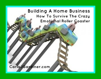 Building A Home Business - How To Survive The Crazy Emotional Roller Coaster
