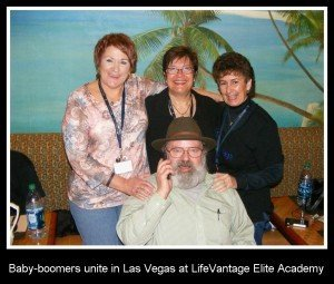 Baby-boomers unite in Las Vegas at LifeVantage Elite Academy