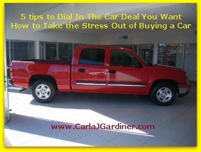 5 Tips To Dial In The Car Deal You Want