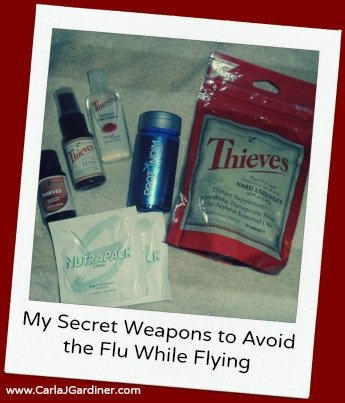 My Secret Weapons to Avoid the Flu While Flying