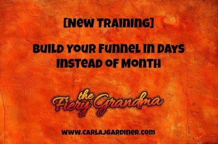 [New Training] Build Your Funnel In Days Instead of Month