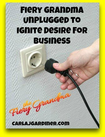 Fiery Grandma Unplugged to Ignite Desire for Business