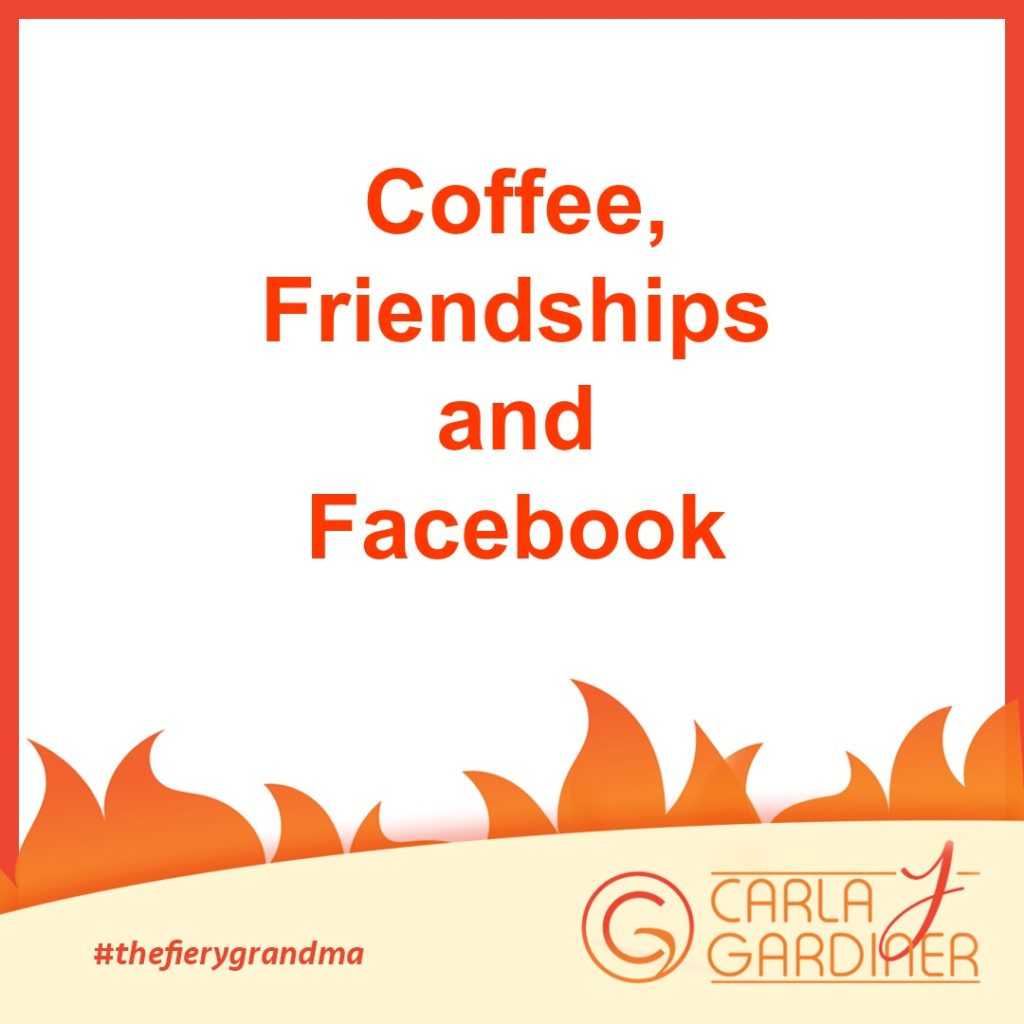 Coffee Friendships and Facebook