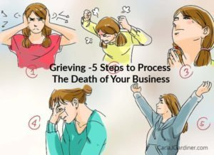 Grieving 5 Steps to Process The Death of Your Business