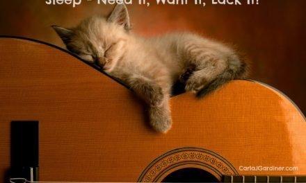 Sleep – Need It, Want It, Lack It?